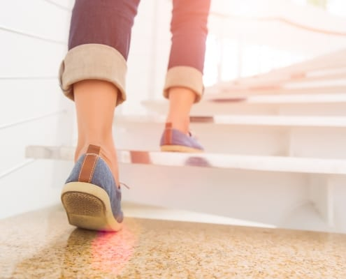stairs, exercise